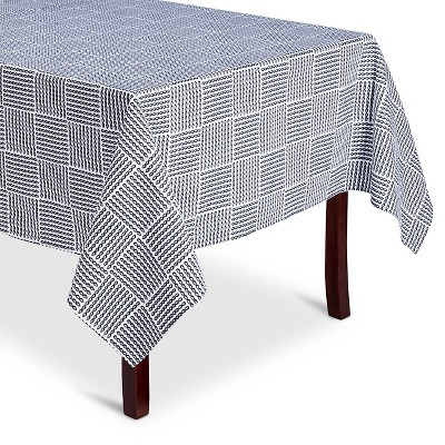 Navy Stripe Tablecloth (52 X70 )- Threshold™