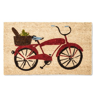 Doormat Red Bicycle 18 x30  - Threshold™