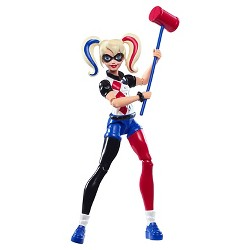 DC Super Hero Girls' Harley Quinn 6-Inch Action Figure
