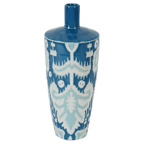 "A&B Home Decorative Vase - Blue(13.5"") - image 1 of 1"
