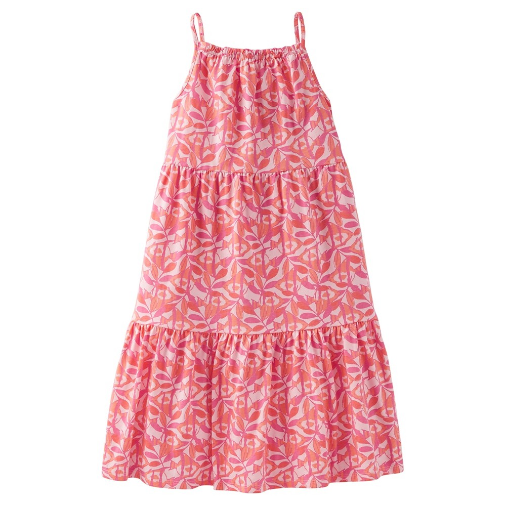 Toddler Girls Leaf Maxi Dress - Just One You Made by Carters Pink 18M, Size: 18 M