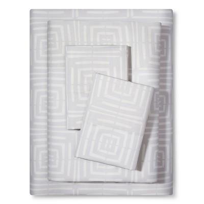 Sheet Set (Queen)Linear Block 300 Thread Count - Nate Berkus™