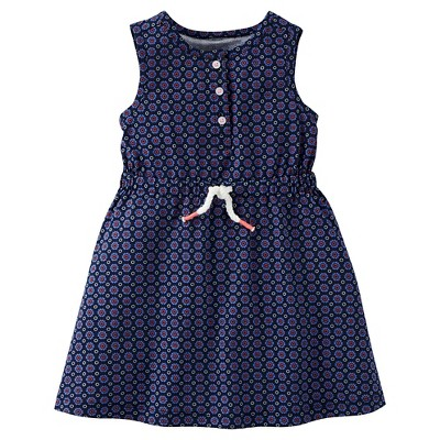 Toddler Girls' Geo Print Dress - Just One You™ Made by Carter's® Navy 6