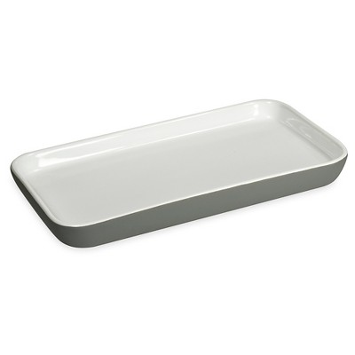 Soft Ceramic Tray - Gray - Room Essentials™