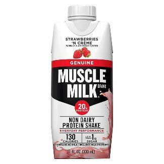 Muscle Milk® Strawberries n Creme Protein Shake - 4 Count (11 oz Each)