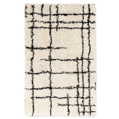 Accent Rug Linear Shag Cream 2'x3' - Nate Berkus™