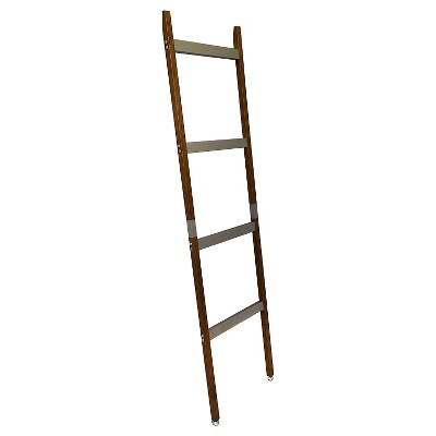 5 ft. Storage Ladder Oak - Threshold™