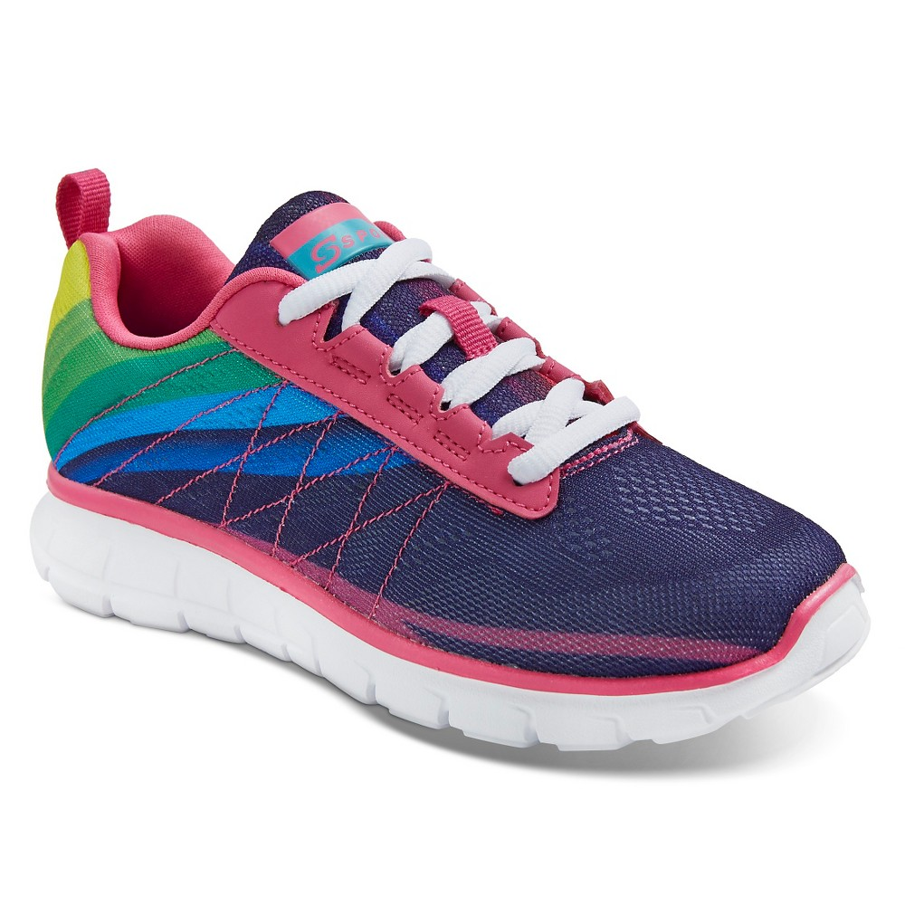 Girls S Sport Designed By Skechers Unbroken Performance Athletic Shoes - 4, Multicolored