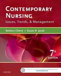 Contemporary Nursing : Issues, Trends, & Management (Paperback) (R.N. Barbara Cherry)