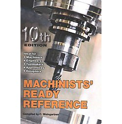 Machinists' Ready Reference (Paperback)