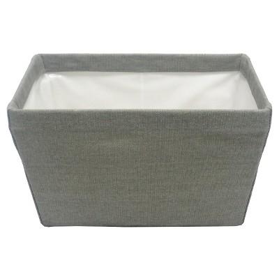 Canvas Storage Ladder Basket Gray - Threshold™