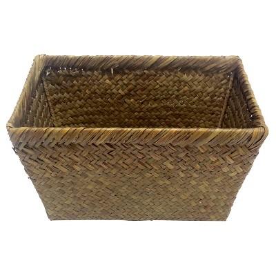 Woven Storage Ladder Basket Brown (Medium)- Threshold™