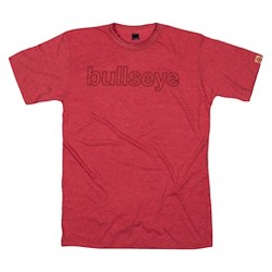 Men's Helvetica Red Tee Shirt