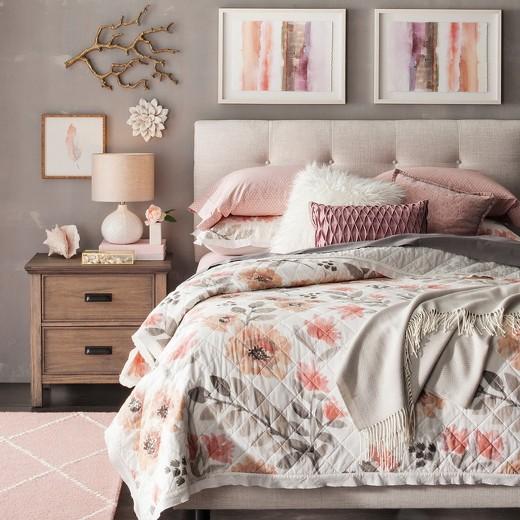 """Flower Wall Decor porcelain flower wall décor 8"""" - white - threshold™ : target"""