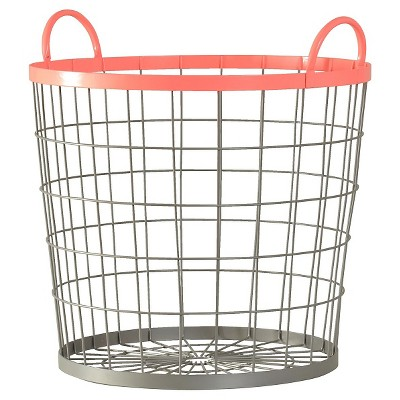 Wire Floor Bin Round Pink - Pillowfort™