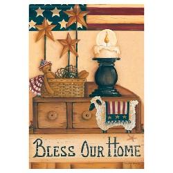 """Carson Bless Our Home Garden Flag (13""""x18"""")"""