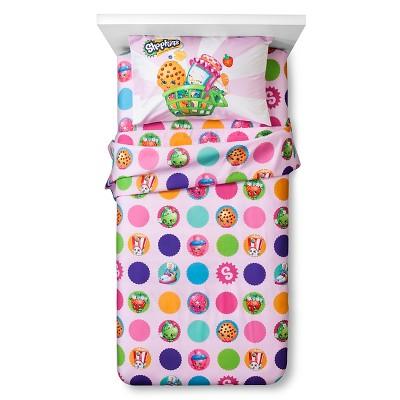Shopkins® Sheet Set Twin 3pc - Pink