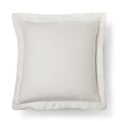 Linen Pillow Sham (Euro)Cream - Fieldcrest™