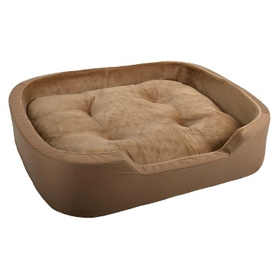 La Ti Paw™ Ortho Foam Pet Bed - XL - Brown