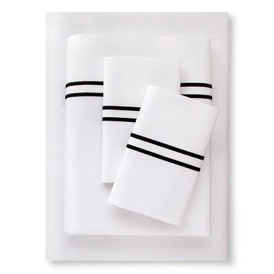 Supima Hotel Sheet Set (King)Black - Fieldcrest™