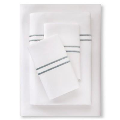 Supima Hotel Sheet Set (Cal King)Aqua Spill - Fieldcrest™