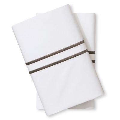 Supima Hotel Pillowcase Set (Standard)Skyline Gray - Fieldcrest™