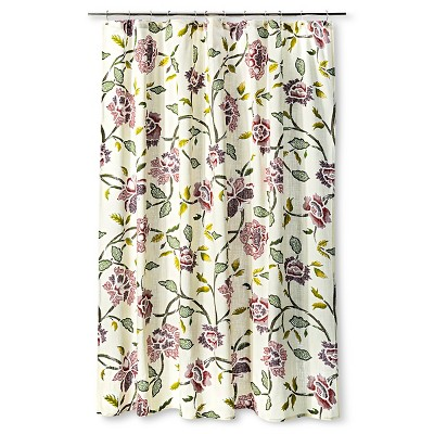 Shower Curtain Floral Multicolored - Threshold™