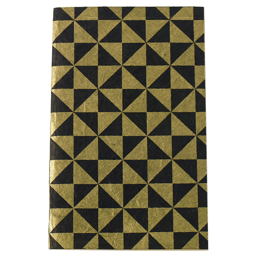 Accent Decor Journal, No Rule – Black and Gold