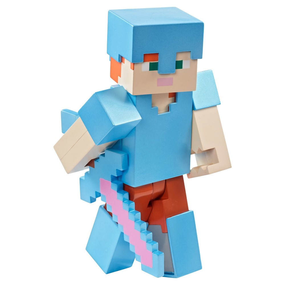 Minecraft Armored Up Alex 5 Figure