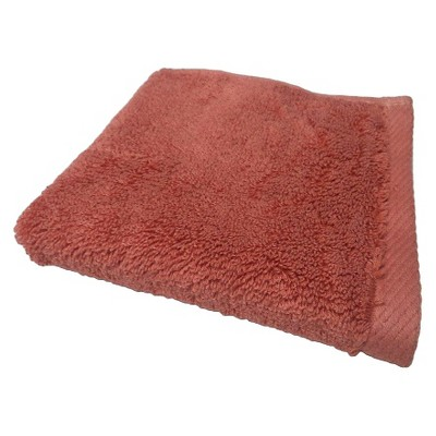 Solid Washcloth Wave Light Red - Nate Berkus™
