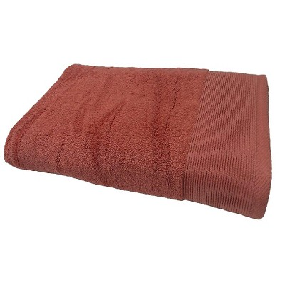 Solid Bath Sheet Wave Light Red - Nate Berkus™