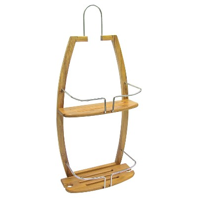 Shower Caddy Bamboo Spa Sensations - Ginsey