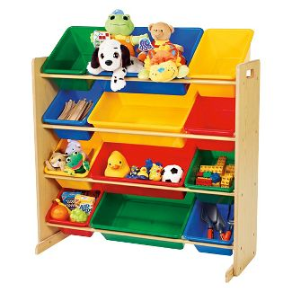 Primary Toy Organizer - Natural - Tot Tutors
