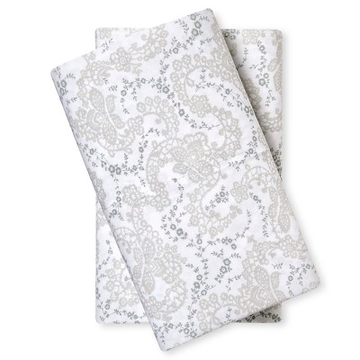 Pillowcase (Standard)Floral Stitch - Simply Shabby Chic™