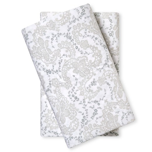Pillowcase (King) Floral Stitch - Simply Shabby Chic : Target