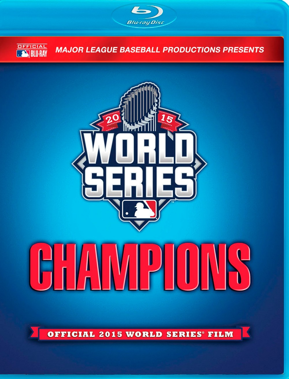 2015 World Series Champions: Official 2015 World Series' Film [Blu-ray]