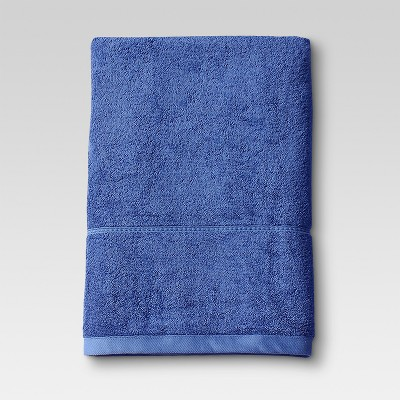 Botanic Bath Sheet Blue - Threshold™