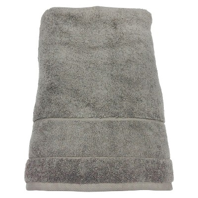 Organic Cotton Bath Sheet Grey Stone - Threshold™