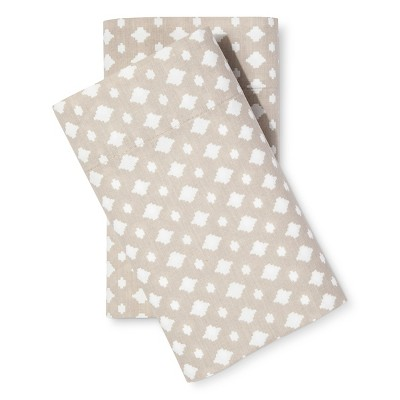 Easy Care Pillowcase Set (King)Sandalwood - Room Essentials™