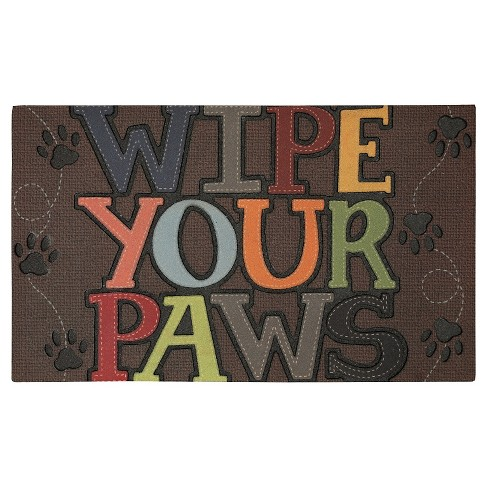 "Mohawk Wipe Your Paws Doormat (18""x30"") - image 1 of 3"