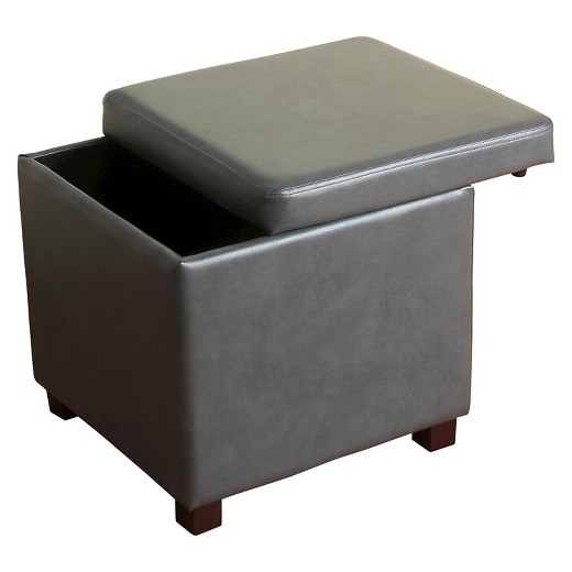 loved 234 times 234 - Collins Cube Storage Ottoman - Threshold™ : Target