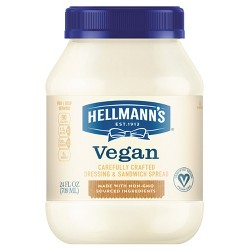 Hellmann's Vegan Dressing and Sandwich Spread Carefully Crafted - 24oz