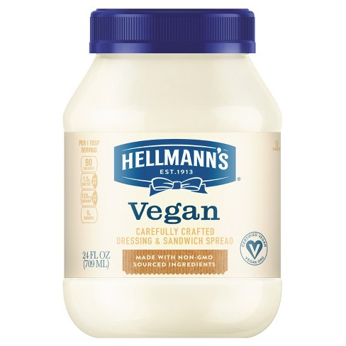 Hellmann's Vegan Dressing and Sandwich Spread Carefully Crafted - 24oz - image 1 of 3