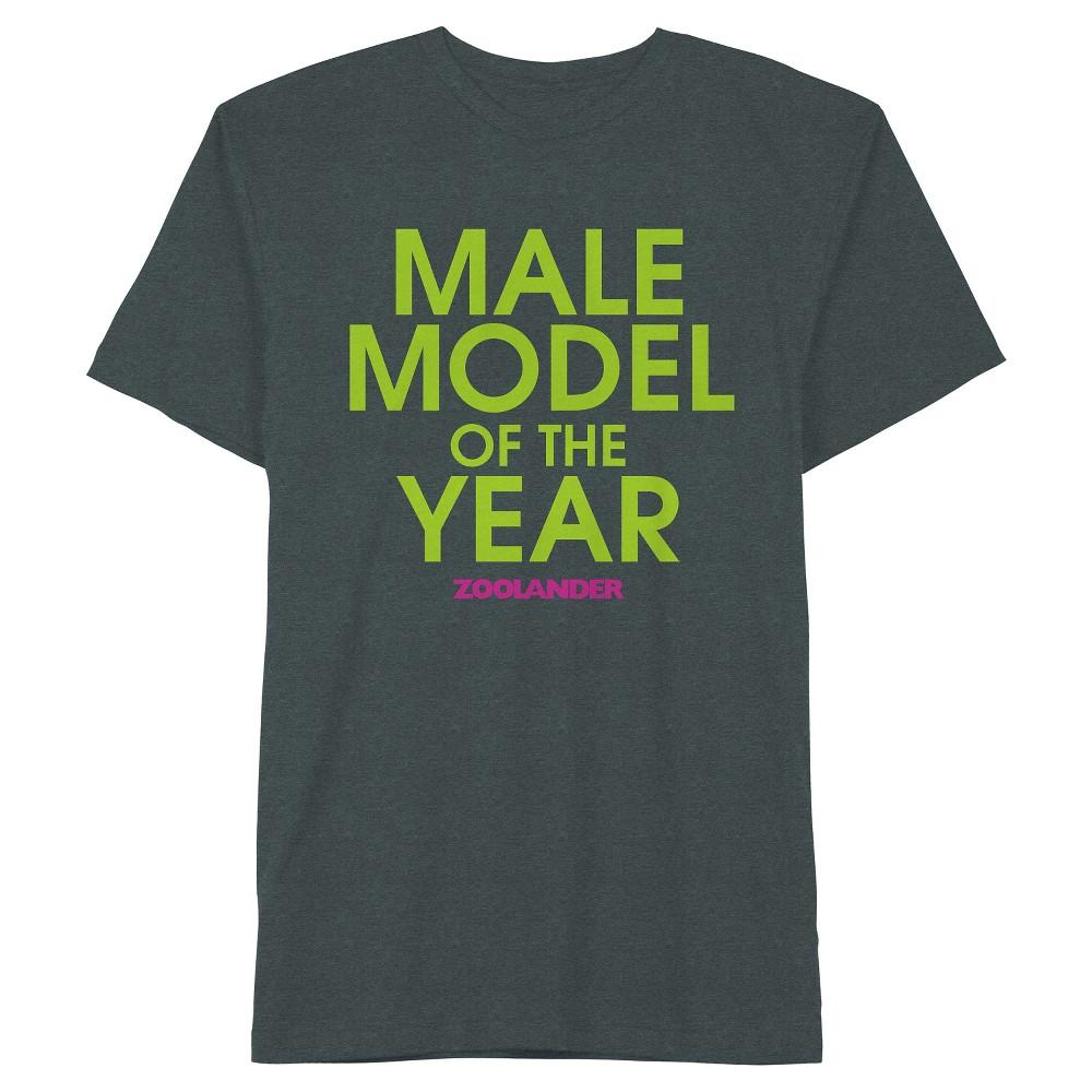 Mens Zoolander Male Model T-Shirt Black Mint Duo Dye Large