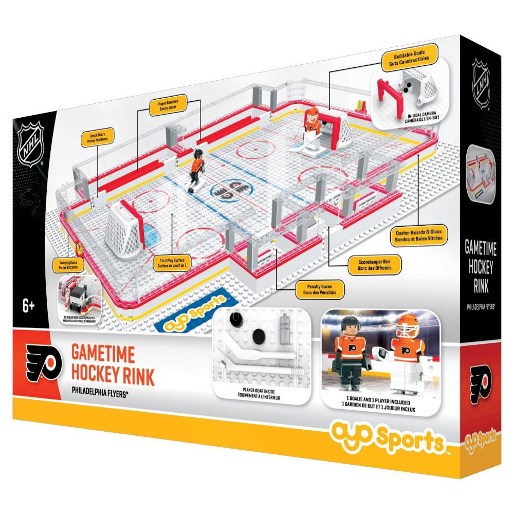 NHL Full Rink Toy Hockey Set - Philadelphia Flyers