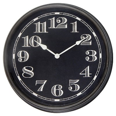 Wall Clock Black 16  - Threshold™