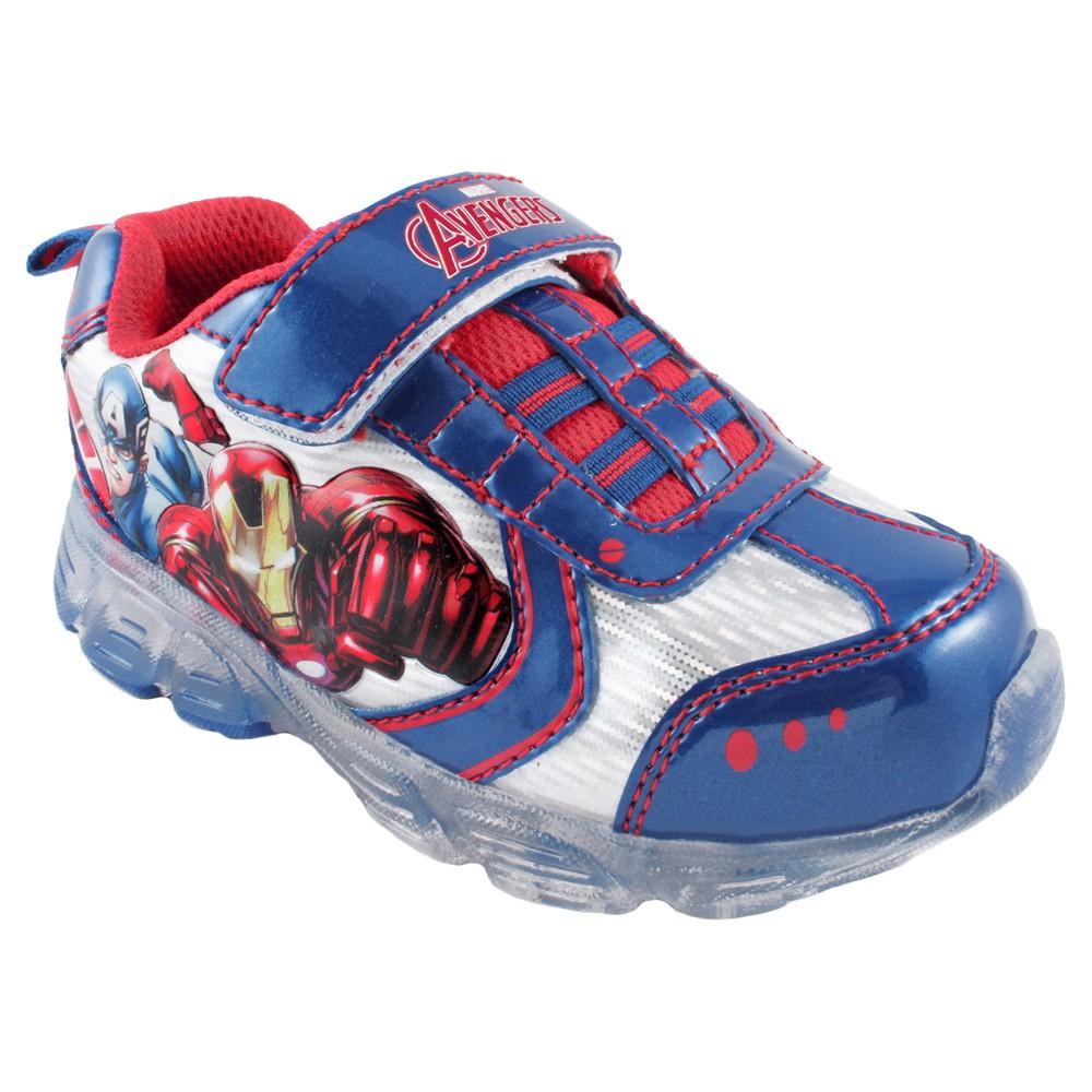 Boys' Avengers Athletic Shoes – Blue 9, Boy's
