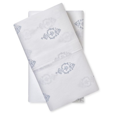 Pillow Case Set Damask (King)White - Simply Shabby Chic™