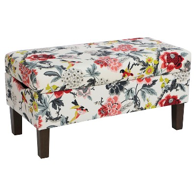 Bedroom Patterned Storage Bench   Skyline Furniture®