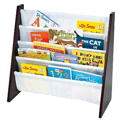 Tot Tutors Modern Classics Book Rack - Espresso